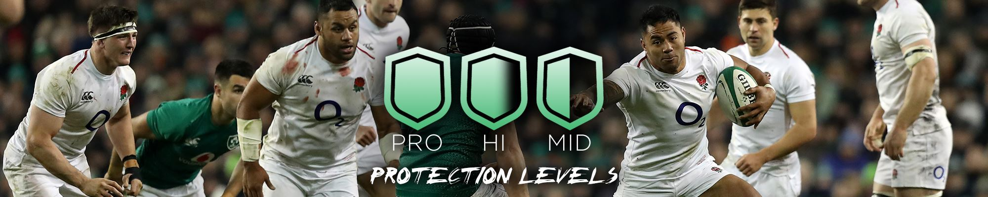 Protection levels banner