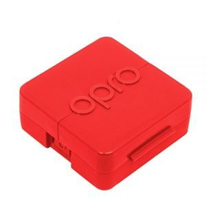 Red Mouthguard Case