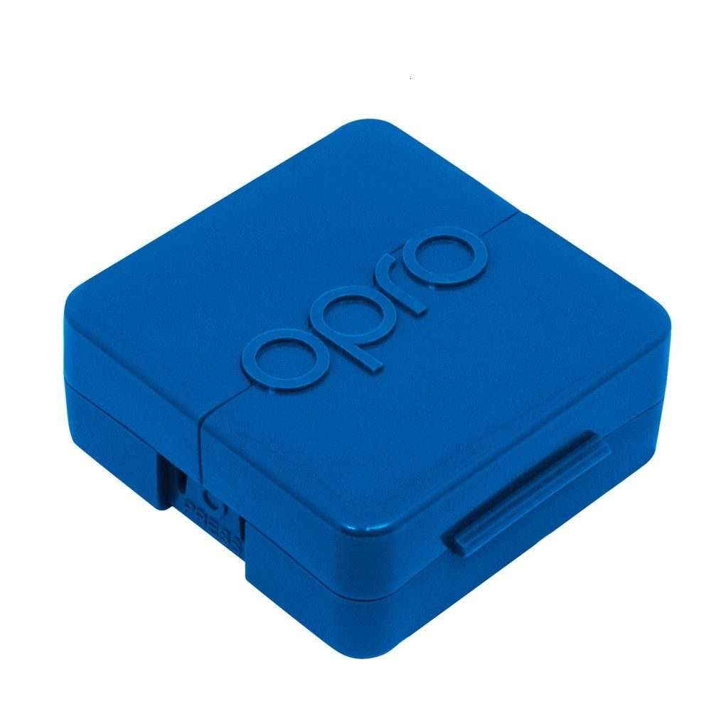 ANTIMICROBIAL MOUTHGUARD CASE- BLUE